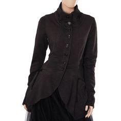 Studio Rundholz Black Label Tulle Trim Patterned Jacket, Brown