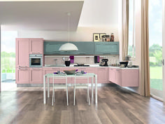 gallery una cucina senza tempo con un anta a telaio caratterizzata da un design moderno