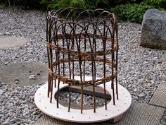 WEAVING WILLOW Peony Cage   http://weavingwillow.blogspot.com/