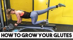 How to Grow Bigger Glutes // My Full Volume Glute Workout