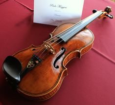 This 1610 Maggini from Weisshaar sounds as gorgeous as it looks! http://www.violinist.com/blog/laurie/201411/16357/
