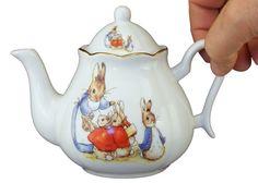 Reutter Porcelain Beatrix Potter China Tea Pot  23157