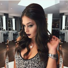 "19.3k Likes, 213 Comments - Júlia Munhoz - Penteadosx (@penteadosx) on Instagram: ""Perfect hair and makeup  @flaapavanelli"""