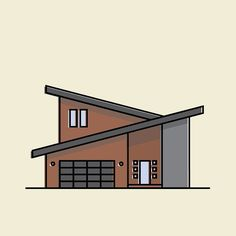 35/366  simple modern house NUMBER TWO  #illustration #flatdesign #icon #icondesign #illustrationaday#iconaday#graphic #graphicdesign#thedesigntip #illustree #vector #vectorart #vectorillustration #lineart #linework#thedesigntip #graphicroozane #drawing #art #minimal #dribbble #behance #modern #architecture #house #home #modernhouse #modernarchitecture #glass #architectureporn by illmexanine