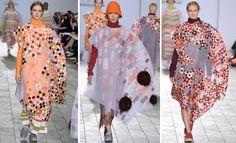 Phoebe Kime Central Saint Martins BA15 Big Dresses, Central Saint Martins, Saints, Fashion Show, Kimono Top, Runway, Style, Dress, Cat Walk