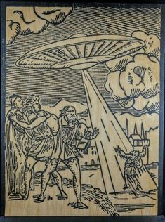 Ancient aliens 854558098022145032 - Otra extraña ilustración Source by elianeguillaneu Aliens And Ufos, Ancient Aliens, Ancient Art, Ancient History, European History, American History, Mysteries Of The World, Ancient Mysteries, Alien Theories