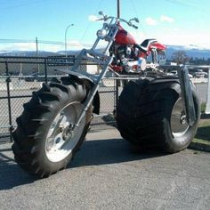 It's a Monster Bike ---- funny pictures hilarious jokes meme humor walmart fails