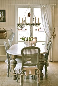 Swedish dining room | Sagolika sinnen: Kök:::