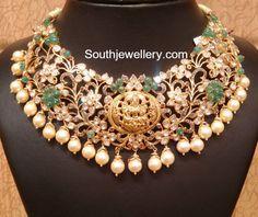 bridal pacchi necklace