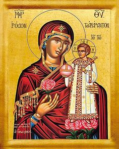 pentecost icon with mary