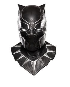 Adult Black Panther Overhead Latex Mask - Captain America: Civil War