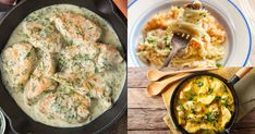 Rýchle, lacné a chutné recepty z jemných kuracích pŕs, zakomponovaných v krémových omáčkach. Hummus, Chicken, Meat, Ale, Ethnic Recipes, Food, Ale Beer, Essen, Meals