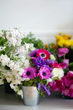 bright and beautiful flowers