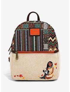 backpacks for girls Disney Handbags, Disney Purse, Purses And Handbags, Canvas Backpack, Backpack Purse, Cute Mini Backpacks, Mini Mochila, Disney Pocahontas, Disney Merchandise