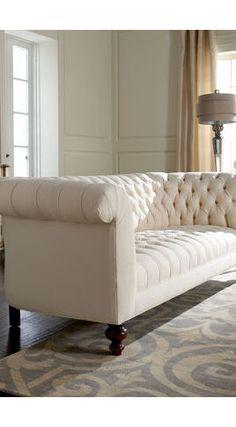 Chloe Fabric Velvet Metro Living Sofa, Seafoam - contemporary - sofas - Macy's