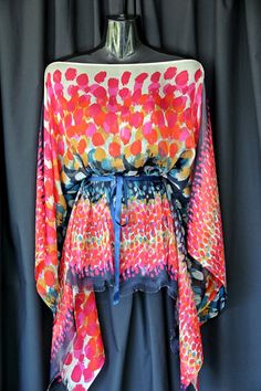 Silk Chiffon Kaftan by MollyKaftans on Etsy, $89.00