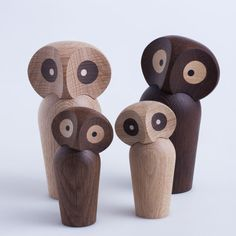 Køb Paul Anker Hansen ugle i egetræ - online her | LirumLarumLeg