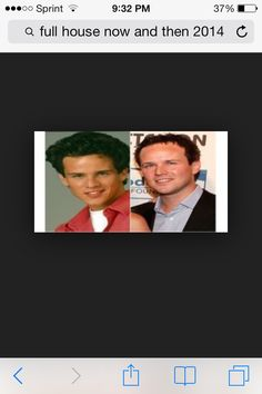 Steve from full house now and then