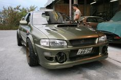 Green gc8 fat tire beast