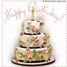 Animated Birthday Cards, Happy Birthday Gif Images, Happy Birthday Rose, Happy Birthday Messages, Happy Birthday Greetings, Happy Birthday Cakes, Glitter Birthday, Birthday Cake Gif, Birthday Cake With Photo