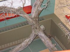 Up close - can you see the copper wire? Wire Trees, Copper Wire, Art Forms, Projects, Plus Size, Log Projects