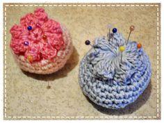 Mini Alfileteros crochet