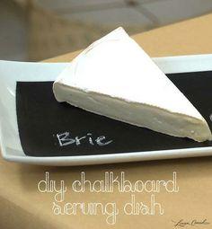 Crafty Creations: DIY Chalkboard Serving Dish