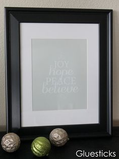 A Year of Home Decor Printables