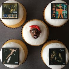 pac-cakes  #giftguide  tupac cupcakes