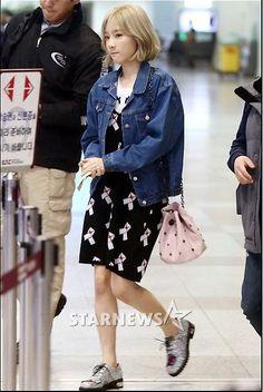 SNSD Taeyeon Twice Nayeon Ribbon Dress