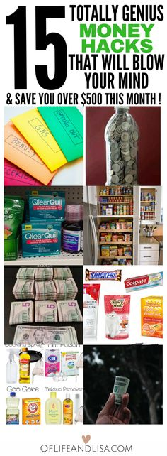 for money hacks to save extra cash? Check out this post where I share amazing money saving tips and tricks.Looking for money hacks to save extra cash? Check out this post where I share amazing money saving tips and tricks. Save Money On Groceries, Ways To Save Money, Money Tips, Money Saving Tips, How To Make Money, Money Hacks, Saving Ideas, Money Budget, Managing Money