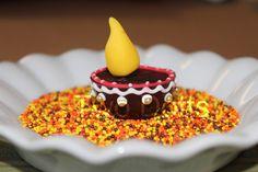The Party Wall: Diwali Inspirations - chocolate diyas