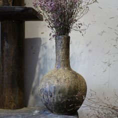 LRT rustic pottery vases are available in a wide range of sizes; from small table top to large sizes for outdoor decorations. They feature a unique design and creative work. Potted Plants, Plant Pots, Pottery Supplies, Rustic Gardens, Small Tables, Pottery Vase, Outdoor Decorations, Creative, Vases