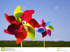 Colorful Pinwheels - Download From Over 41 Million High Quality Stock Photos, Images, Vectors. Sign up for FREE today. Image: 2248409