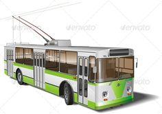 Vector Trolleybus