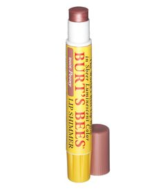 Burts Bees Lip Shimmer in Peony.  If I had to just pick one lipstick for life..this would be the one.