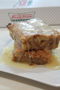 Krispy Kreme Bread Pudding Recipe ***Aunt Shoppie added 3 jiggers of Rum.***
