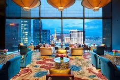 Mandarin Oriental, Las Vegas. One of the best hotels I have ever been to. stayed in cityscape suite room 1935. ask for this room by name! You wont be sorry!