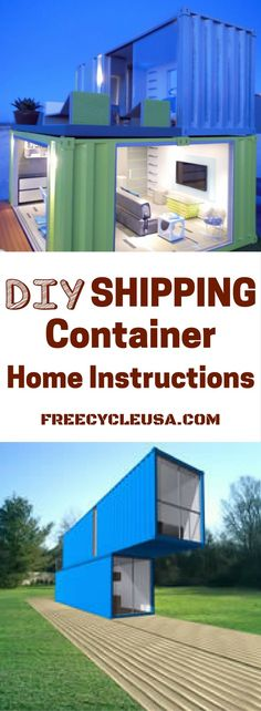 How To Build A Shipping Container Home instructions