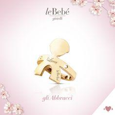 Gli Abbracci, i nuovi anelli di leBebé Gioielli, simboli dell'amore più sincero. Scopri la versione bimbo in oro giallo e diamanti. :) http://www.lebebe.eu/it/prodotto/gli_abbracci_bimbo #fieradiesseremamma #lebebé #gioielli #abbracci #anelli #mamme
