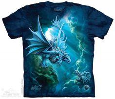 The Mountain Dragon T-shirt | Sea Dragon, Anne Stokes Tees, 105740