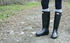 Hunter Boots- need to get me a pair of these before I leave :D