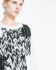 Image 5 of WOVEN SWEATER from Zara