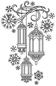 Irresistible Embroidery Patterns, Designs and Ideas. Awe Inspiring Irresistible Embroidery Patterns, Designs and Ideas. Christmas Embroidery Patterns, Hand Embroidery Patterns, Embroidery Designs, Christmas Patterns, Embroidery Stitches, Christmas Templates, Paper Embroidery, Christmas Coloring Pages, Coloring Book Pages