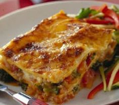 Fun Easy Recipes, Easy Meals, Vegetable Lasagne, Lasagne Recipes, Tortellini, Savoury Dishes, Lasagna, Italian Recipes, Lasagne