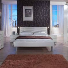 doppelbett aus der serie riva das doppelbett riva aus vollmassiver kiefer im romantischen. Black Bedroom Furniture Sets. Home Design Ideas