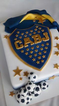 Torta boca juniors | Seguinos en www.facebook.com/My-Cake-Na… | Flickr