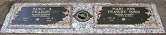 Companion Bronze Gravestone, Two Plate: Resurrection, Butterfly, GB-160, 24x14 bronze, Texas Pink Granite, Size(s): I