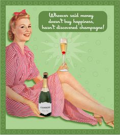 #champagne Money Doesnt Buy Happiness, Champagne Quotes, Ending Quotes, Bubble Fun, Champagne Taste, Boat Stuff, Wine Quotes, Sparkling Wine, Best Quotes