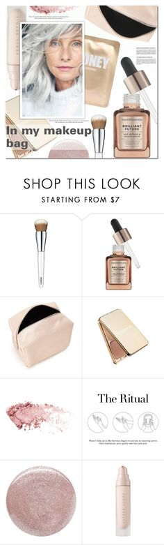 """..."" by a-a-nica ❤ liked on Polyvore featuring beauty, Clinique, Bare Escentuals, Forever 21, Napoleon Perdis, La Mer, Christian Louboutin and Lapcos"